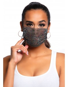 Harlow Rhinest.Face Mask Cover