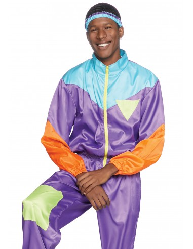 Awesome 80s Track Suit